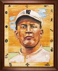 Baseball Collectibles:Others, Jim Thorpe Original Painting. ...