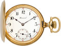 Timepieces:Pocket (post 1900), E. Howard Watch Co. Gold Pocket Watch, circa 1907. ...
