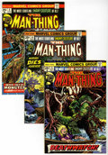 Bronze Age (1970-1979):Horror, Man-Thing #5-10 Plus Group (Marvel, 1974) Condition: AverageVF/NM.... (Total: 8 Comic Books)