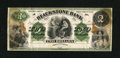 Obsoletes By State:Massachusetts, Uxbridge, MA- Blackstone Bank $2 G26a Proof. ...