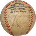 Autographs:Baseballs, 1940 New York Yankees Team Signed Baseball. ...