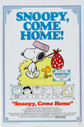 Memorabilia:Poster, Snoopy, Come Home! One Sheet Poster (National General,1972)....