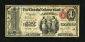 National Bank Notes:Maine, Bath, ME - $1 Original Fr. 380 The Lincoln NB Ch. # 761. ...