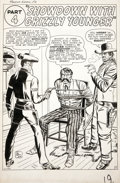 Original Comic Art:Splash Pages, Jack Kirby and Dick Ayers Rawhide Kid #21 Splash Page 15Original Art (Marvel, 1961)....