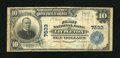 National Bank Notes:Colorado, Littleton, CO - $10 1902 Plain Back Fr. 624 The First NB Ch. #7533. ...