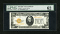 Small Size:Gold Certificates, Fr. 2402* $20 1928 Gold Certificate. PMG Uncirculated 62.. ...
