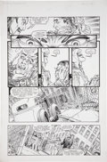 Original Comic Art:Panel Pages, Michael W. Kaluta The Shadow Movie Adaptation #2, page 12Original Art (Dark Horse, 1994)....