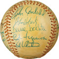 Autographs:Baseballs, 1974 California Angels Team Signed Baseball. ...