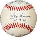 Autographs:Baseballs, New York Yankees Multi-Signed Baseball. ...