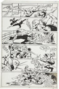 Original Comic Art:Panel Pages, Frank Miller and Klaus Janson Daredevil #172 Bullseye page19 Original Art (Marvel, 1981)....