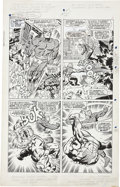 Original Comic Art:Panel Pages, Jack Kirby and Joe Sinnott Fantastic Four #63 page 3Original Art (Marvel, 1967)....