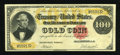 Large Size:Gold Certificates, Fr. 1212 $100 1882 Gold Certificate Very Fine-Extremely Fine....