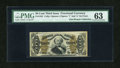 Fractional Currency:Third Issue, Fr. 1332 50c Third Issue Spinner PMG Choice Uncirculated 63....