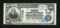 National Bank Notes:Wyoming, Newcastle, WY - $10 1902 Plain Back Fr. 624 The First NB Ch. #(W)7198. ...