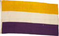Political:Textile Display (1896-present), Woman's Suffrage: National Woman's Party Flag....