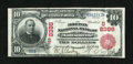 National Bank Notes:Kentucky, Madisonville, KY - $10 1902 Red Seal Fr. 615 The Morton NB Ch. #(S)8386. ...