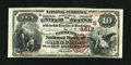 National Bank Notes:Kentucky, Augusta, KY - $10 1882 Brown Back Fr. 485 The Farmers NB Ch. #(S)4612. ...