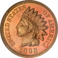 Proof Indian Cents, 1898 1C PR67 Red NGC....