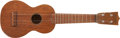 Musical Instruments:Banjos, Mandolins, & Ukes, The Mamas and the Papas - Papa John Phillips' Vintage Martin Ukulele. ...