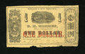 Obsoletes By State:Louisiana, New Orleans, LA- D.H. Hormes $1 March, 1862 . ...