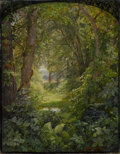 Paintings, The Hon. Paul H. Buchanan, Jr. Collection. WILLIAM TROST RICHARDS (American, 1833-1905). Woodland Landscape (Woodlan...