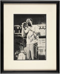 Music Memorabilia:Autographs and Signed Items, Otis Redding Signed Photo....
