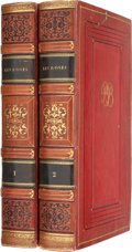 Books:Non-fiction, Pierre Joseph Redouté and Claude Antoine Thory. Les Roses.Paris: C. L. F. Panckoucke, 1824.. First octavo edition... (Total:2 Items)