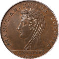 Colonials, 1796 MEDAL Castorland Medal, Bronze MS66 Brown PCGS....
