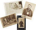 Political:Small Miscellaneous (pre-1896), Ulysses S. Grant: A Collection of Four 19th Century Photos.... (Total: 4 Items)