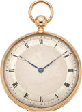 Timepieces:Pocket (pre 1900) , J.D. Piguet & Fils Rare Early Minute Repeating Pocket Watch,circa 1820. ...