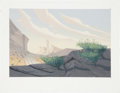 animation art:Production Cel, Home on the Range Concept Sketch Original Art (Disney,2004)....