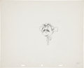 animation art:Production Drawing, Peter Pan Mr. Darling Animation Production Drawing OriginalArt (Walt Disney, 1953)....
