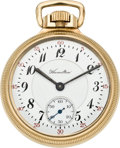 Timepieces:Pocket (post 1900), Hamilton 23 Jewel Grade 950 Pocket Watch, circa 1916. ...