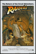 """Movie Posters:Adventure, Raiders of the Lost Ark (Paramount, R-1982). One Sheet (27"""" X 41"""").Adventure.. ..."""