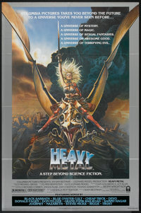 """Heavy Metal (Columbia, 1981). One Sheet (27"""" X 41"""") Style A. Animated"""