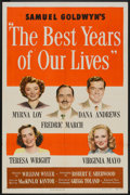 """Movie Posters:Drama, The Best Years of Our Lives (RKO, 1946). One Sheet (27"""" X 41"""")Style A. Drama.. ..."""