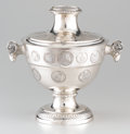 Silver Holloware, Continental:Holloware, A CONTINENTAL SILVER TWO-HANDLED TUREEN AND COVER. 19th Century. 14x 15 x 11 inches (35.6 x 38.1 x 27.9 cm). ...