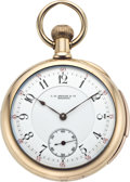 Timepieces:Pocket (pre 1900) , C. H. Meylan Gold Minute Repeating Pocket Watch, circa 1895. ...
