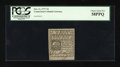 Colonial Notes:Connecticut, Connecticut October 11, 1777 7d PCGS Choice About New 58PPQ....