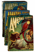 Pulps:Science Fiction, Amazing Stories Box Lot (Ziff-Davis, 1926-31) Condition: AverageFR.... (Total: 29 Items)