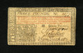 Colonial Notes:New Jersey, New Jersey February 20, 1776 L3 John Hart Extremely Fine....