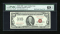 Small Size:Legal Tender Notes, Fr. 1550 $100 1966 Legal Tender Note. PMG Superb Gem Uncirculated 68 EPQ.. ...