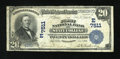 National Bank Notes:Pennsylvania, State College, PA - $20 1902 Plain Back Fr. 650 The First NB Ch. #(E)7511. ...