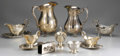 Miscellaneous, AN ASSORTED GROUP OF SILVER AND SILVER PLATED ITEMS . Variousmakers. 10-1/2 inches (26.7 cm) high, largest pitcher. ... (Total:8 Items)