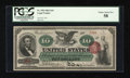Large Size:Legal Tender Notes, Fr. 95b $10 1863 Legal Tender PCGS Choice About New 58....
