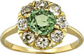 Estate Jewelry:Rings, Demantoid Garnet, Diamond, Gold Ring. ...