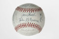 Autographs:Baseballs, 1979 Cincinnati Reds Team Signed Baseball. Twenty-five signaturesfrom the exceptional '79 Reds squad appear on the ONL (Fe...