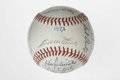 Autographs:Baseballs, 1973 Atlanta Braves Team Signed Baseball. Twenty-three members ofthe 1973 Atlanta Braves have found their way to the provi...