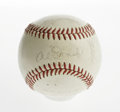 Autographs:Baseballs, 1963 San Francisco Giants Team Signed Baseball. Hall of Fame talentlike McCovey, Mays, Perry and Marichal make this ONL (G...