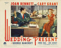 """Movie Posters:Comedy, Wedding Present (Paramount, 1936). Lobby Cards (4) (11"""" X 14"""")....(Total: 4 Items)"""